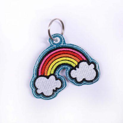 Schlüsselanhänger Regenbogen