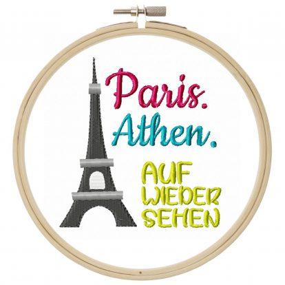Stickdatei Paris