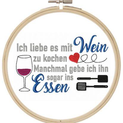 ICh liebe Wein