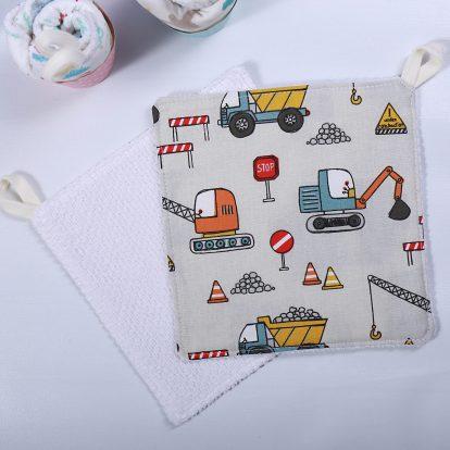 Waschlappen Fahrzeuge Baumwolle Kinder