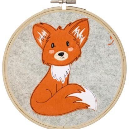 Fuchs Doodle Stickdatei Appikation