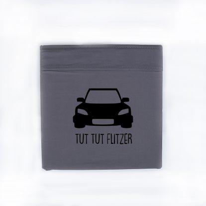 Bügelbild Flitzer Autos Ordnung Box